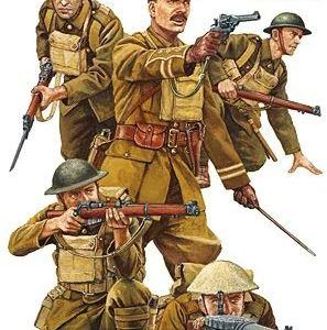 1:35 Tamiya: WW I British Infantry Set