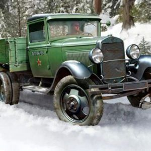 1:35 Hobby Boss 83837 Soviet GAZ-AAA Cargo Truck