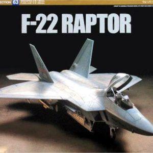 1:72 Tamiya: Lockheed Martin F-22 Raptor