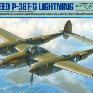 1:48 Tamiya: Lockheed P-38 F/G Lightning