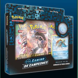 Pokemon TCG: Caja Con Pin Camino De Campeones – Pueblo Amura (Español)