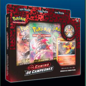Pokemon TCG: Caja Con Pin Camino De Campeones – Ciudad Piston (Español)