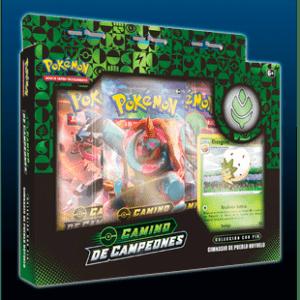 Pokemon TCG: Caja Con Pin Camino De Campeones – Pueblo Hoyuelo (Español)