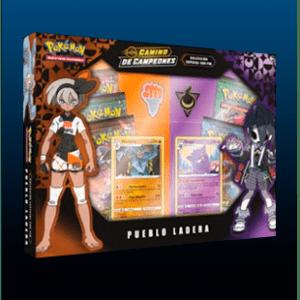 Pokemon TCG:  Caja Con Pin Camino De Campeones – Pueblo Ladera (Español)