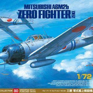 1:72 Tamiya: Mitsubishi A6M2b Zero Fighter ZEKE