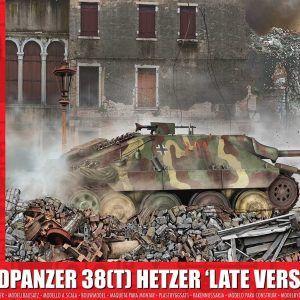 1:35 Airfix A1353 Jagdpanzer 38(T) Hetzer 'Late Version'