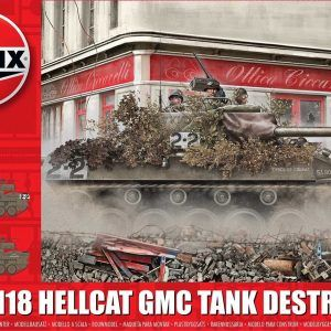 1:35 Airfix A1371 M18 Hellcat GMC Tank Destroyer