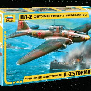 """1:72 Zvezda 7286 IL-2 STORMOVIK """"Tank Hunter"""""""