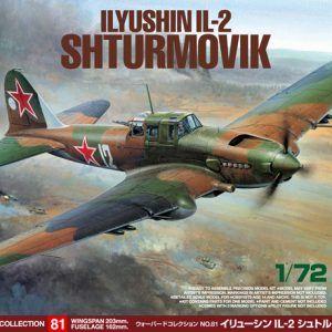 1:72 Tamiya: Ilyushin IL-2 SHTURMOVIK