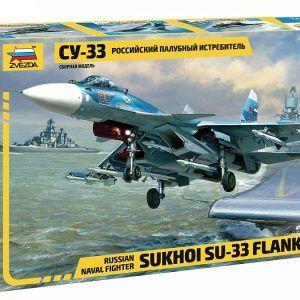 1:72 Zvezda 7297 Sukhoi SU-33 Flanker-D
