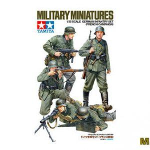1:35 Tamiya: German Infantry Set