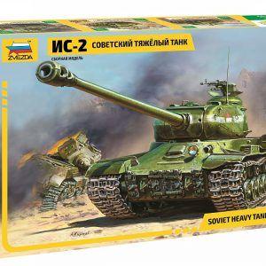 1:72 Zvezda 3524 Soviet Heavy Tank IS-2