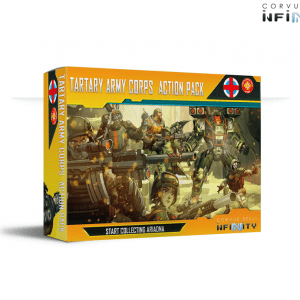 Infinity: Tartary Army Corps Action Pack (0851)