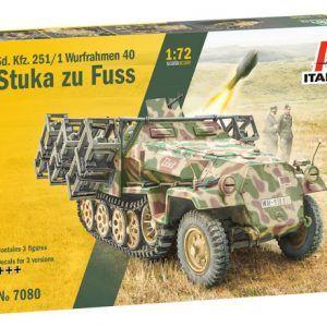 1/72 Italeri Sd. Kfz. 251/1 Stuka Zu Fuss