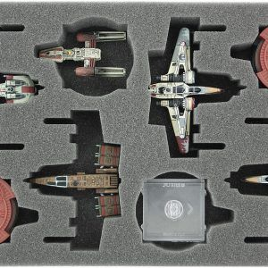 HSGA035BO Foam Tray For Star Wars X-WING 4 X ARC-170 Or K-Wing And Accessories