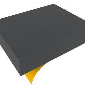 FSBA080S Full-Size Block Foam – 80 Mm Self-adhesive