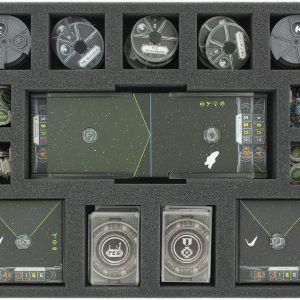 FSJV035BO 35 Mm Full-size Foam Tray For Star Wars X-WING Accessories