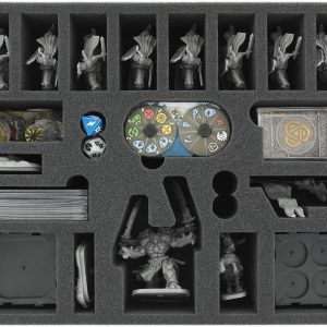 FSKH070BO 70 Mm Foam Tray With 21 Compartments For Runewars Miniatures Game – Daqan-Lords Units