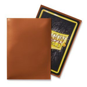 Dragon Shield: Standard Sleeves – Classic Copper (100 Sleeves)