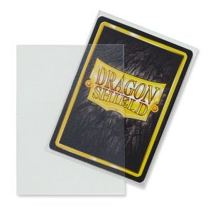 Dragon Shield Standard Sleeves – Matte Clear (100 Sleeves)