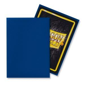 Dragon Shield Standard Sleeves – Matte Blue (100 Sleeves)