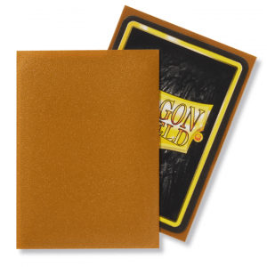 Dragon Shield: Standard Sleeves – Matte Gold (100 Sleeves)