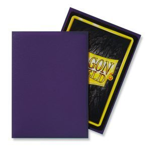 Dragon Shield Standard Sleeves – Matte Purple (100 Sleeves)