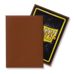 Dragon Shield: Standard Sleeves – Matte Umber (100 Sleeves)
