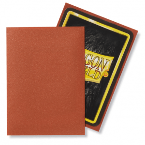 Dragon Shield: Standard Sleeves – Matte Copper (100 Sleeves)
