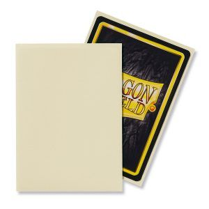 Dragon Shield: Standard Sleeves – Matte Ivory (100 Sleeves)