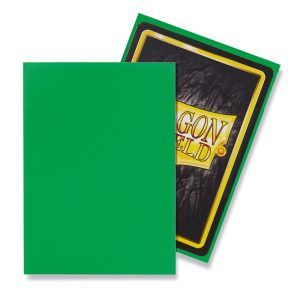 Dragon Shield: Standard Sleeves – Matte Apple Green (100 Sleeves)
