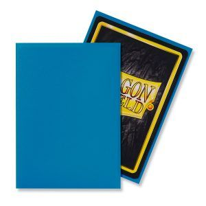 Dragon Shield: Standard Sleeves – Matte Sky Blue (100 Sleeves)