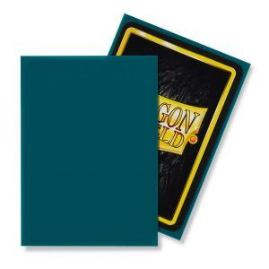 Dragon Shield: Standard Sleeves – Matte Petrol (100 Sleeves)