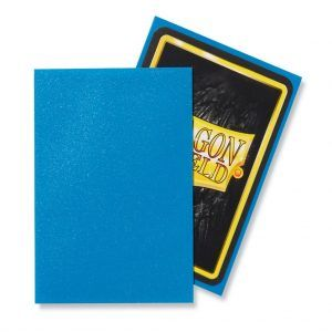 Dragon Shield: Standard Sleeves – Matte Sapphire (100 Sleeves)