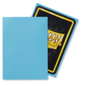 Dragon Shield: Standard Sleeves – Matte Baby Blue (100 Sleeves)