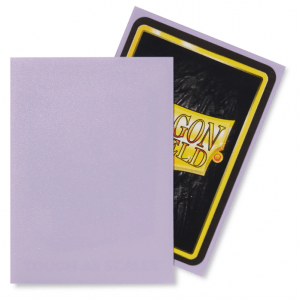 Dragon Shield: Standard Sleeves – Matte Lilac (100 Sleeves)