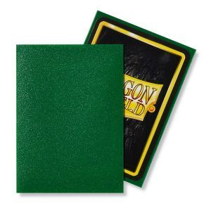 Dragon Shield: Standard Sleeves – Matte Emerald (100 Sleeves)