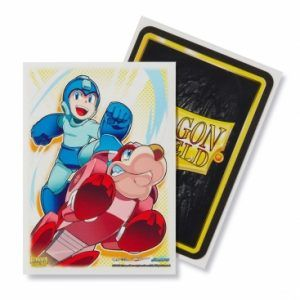 Dragon Shield Standard Sleeves – Classic Mega Man & Rushd (100 Sleeves)