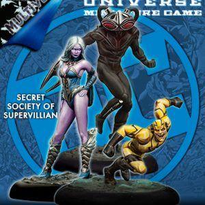 Batman Miniature Game: Secret Society Of Supervillains Miniatures