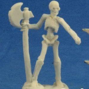 Skeleton Warrior Axeman (3) 77243