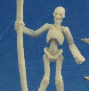 Skeleton Warrior Spearman (3) 77244