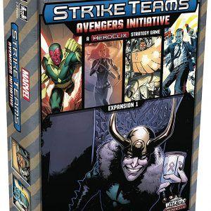 Marvel Strike Teams Strategy Game: Avengers Initiative – Expansión Juego De Mesa [Inglés]