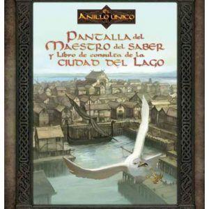 El Anillo Unico – Pantalla Del Maestro Del Saber Y Libro De Consulta De La Ciudad Del Lago