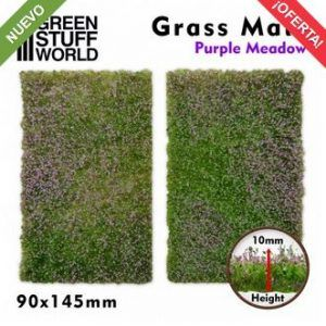 Tapetes Recortados De Hierba – Prado Purpura
