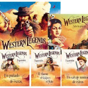 Pack Western Legends + Todas Las Expansiones