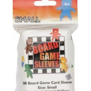 Fundas Para Cartas – Board Games Sleeves – European Variant – Small Cards (44x68mm) – 100 Pcs