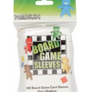 Arcane Tinmen: Fundas Para Cartas – Board Games Sleeves – American Variant – Big Cards (57x89mm) – 100 Pcs