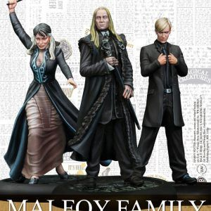 Harry Potter Miniatures Adventure Game: Malfoy Family Español