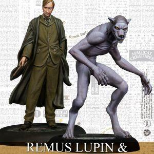 Harry Potter Miniatures Adventure Game: Remus Lupin & Werewolf Form Español