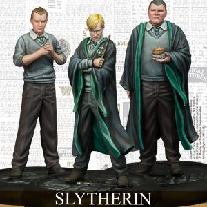 Harry Potter Miniatures Adventure Game: Slytherin Students Pack Espanol